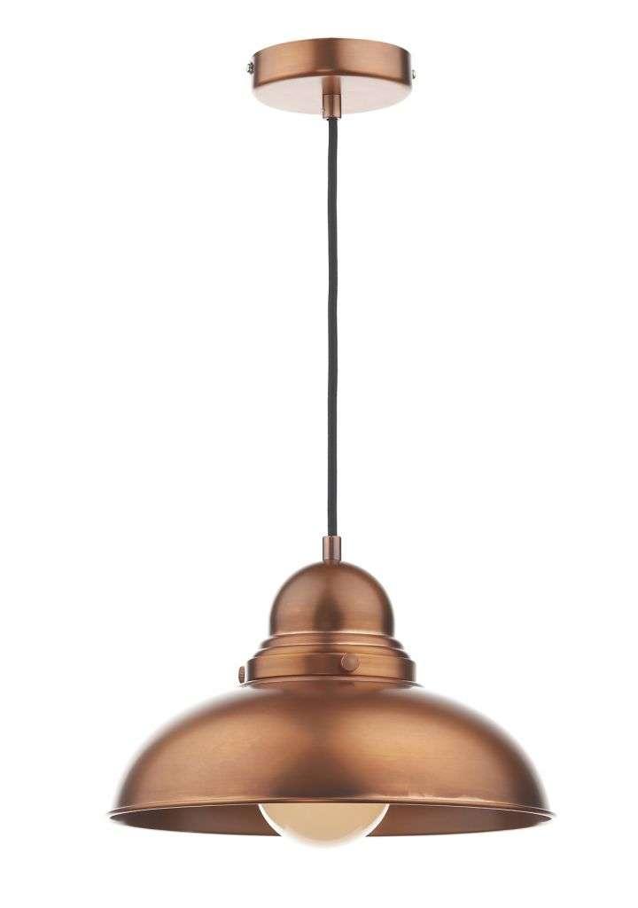 Dynamo 1-Light Antique Copper Pendant