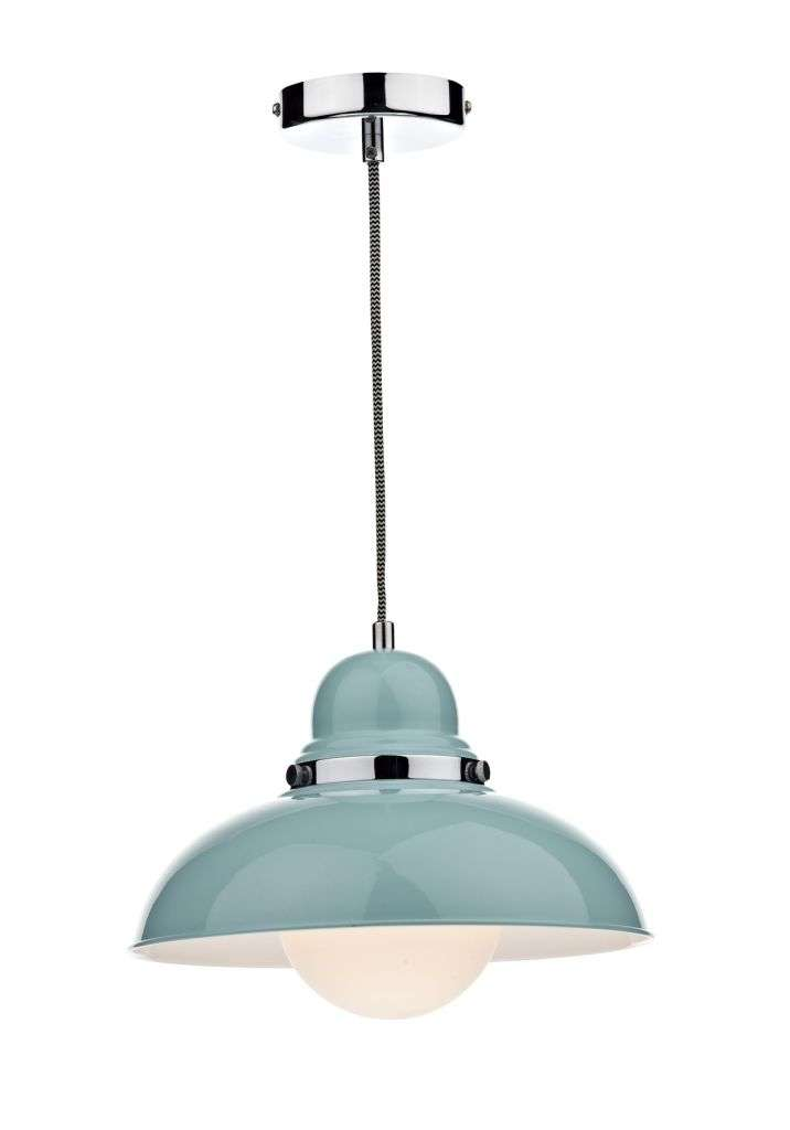 Dynamo 1-Light Blue Pendant