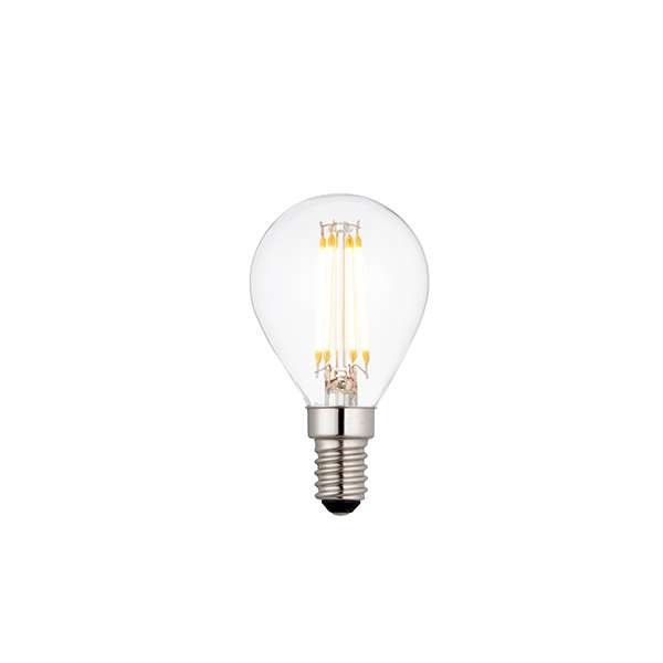 E14 LED Filament Clear Glass 4W Warm White Dimmable