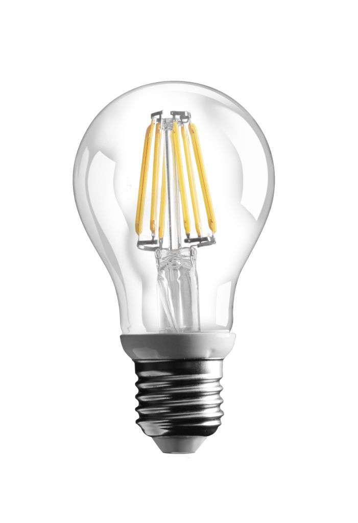 E27 Filament LED Lamp 6W 2700K
