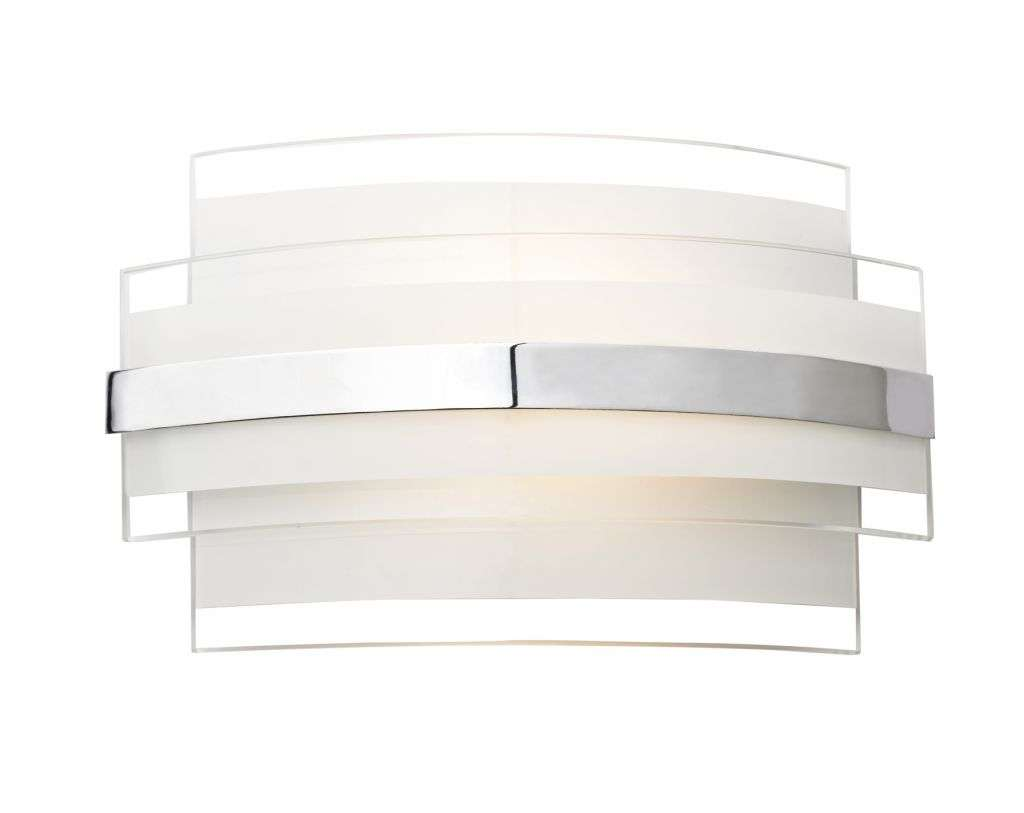 Edge 5W LED Glass Wall Bracket