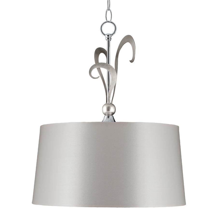 Eleonor 1 Light 2 Tone Chrome Pendan | Online Lighting Shop