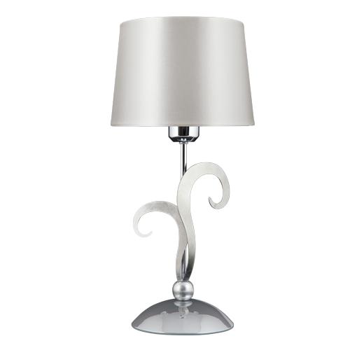 Eleonor 2 Tone Chrome Table Lamp | Online Lighting Shop