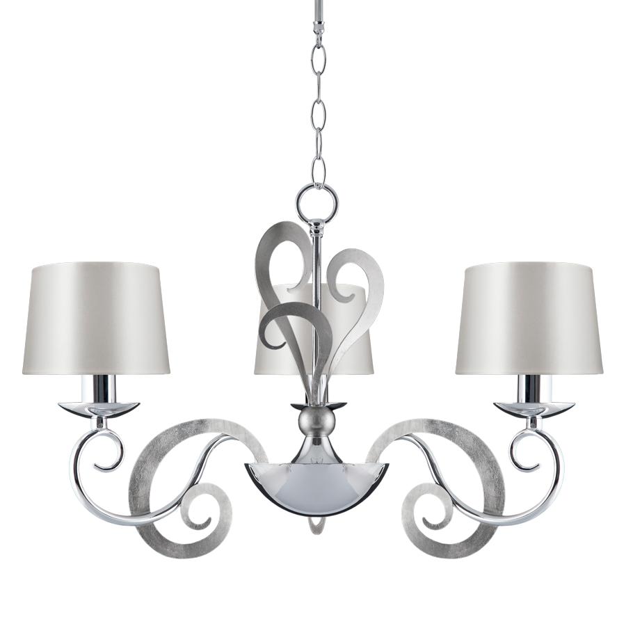 Eleonor 3 Light 2 Tone Chrome Ceiling Light | Online Lighting Shop