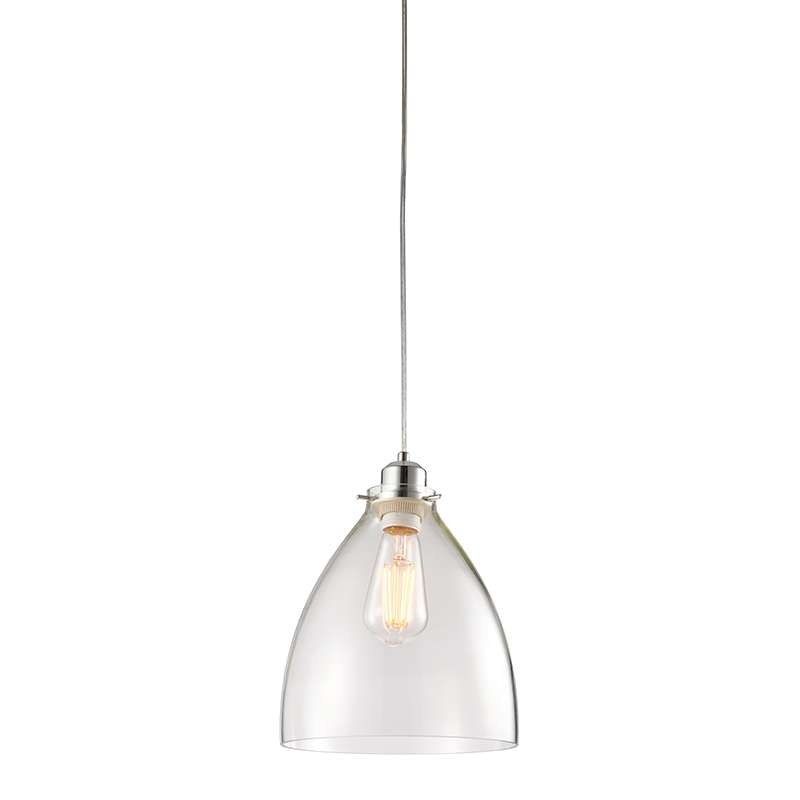 Elstow Non Electric 60W Pendant Clear Glass