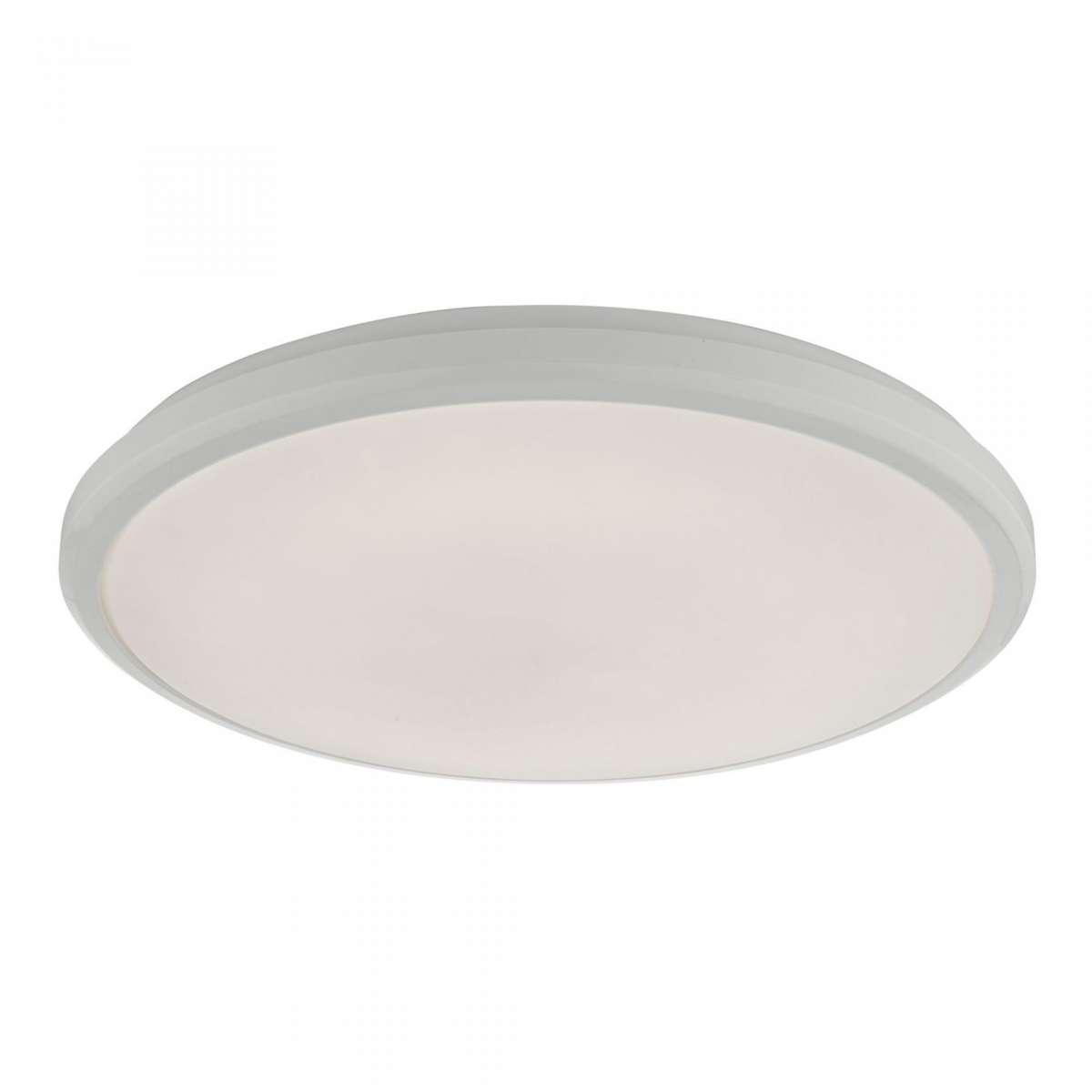Emmett White LED Flush Light IP44