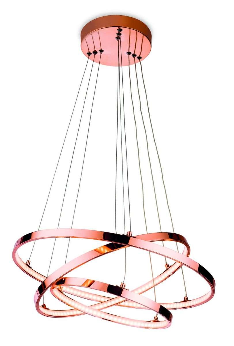 Esprit LED Pendant in Copper Finish