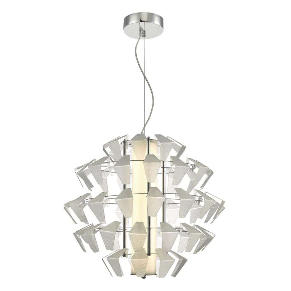 Falcon 1 Light Pendant Suspension Acrylic 35w LED