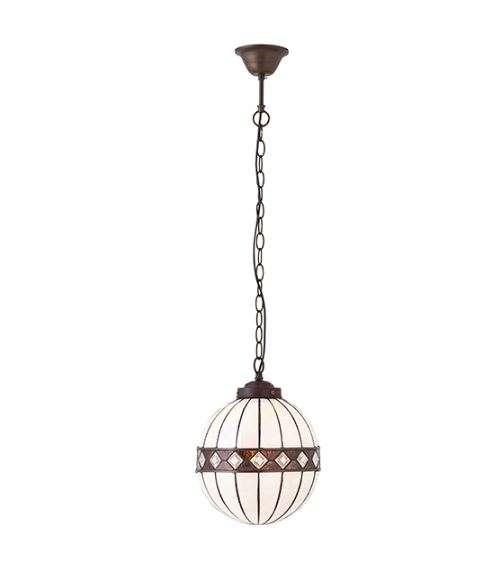 Fargo Small Globe 1 Light Pendant 40W