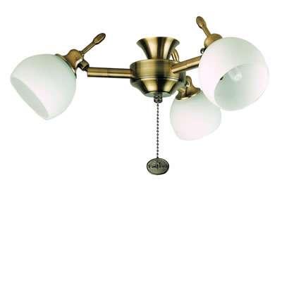 Florence Antique Brass 3-Light Kit