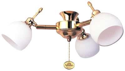 Florence Polished Brass 3-Light Kit