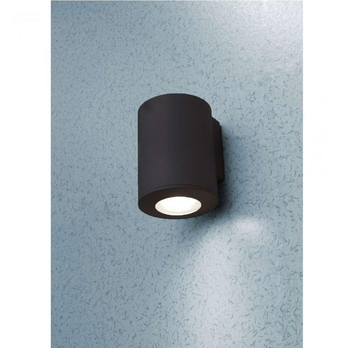 Franca 90 Black LED 3.5W Up/Down Wall Light