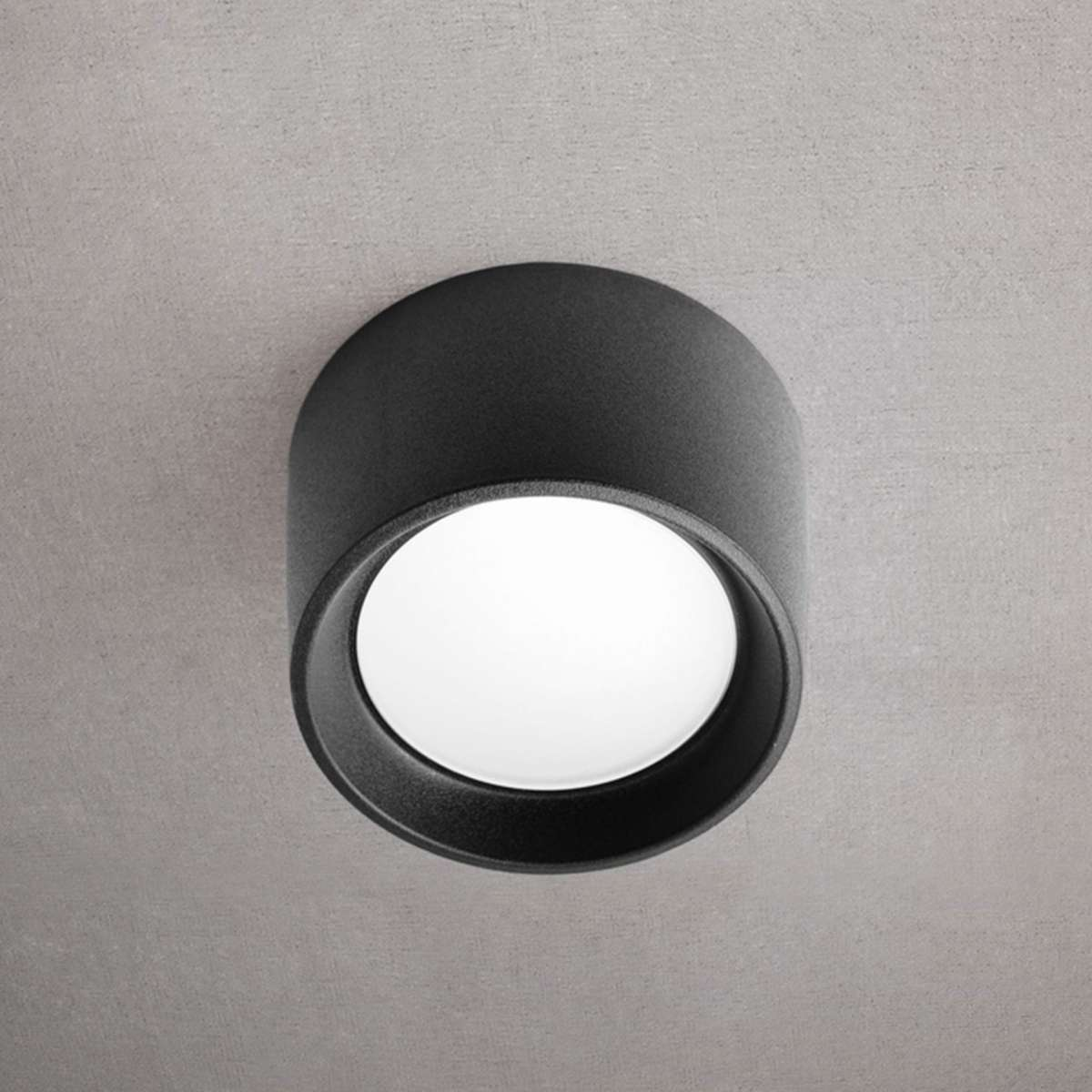 Fumagalli LIVIA160BL Livia 160 Black LED 7W 4000K Ceiling Down Light
