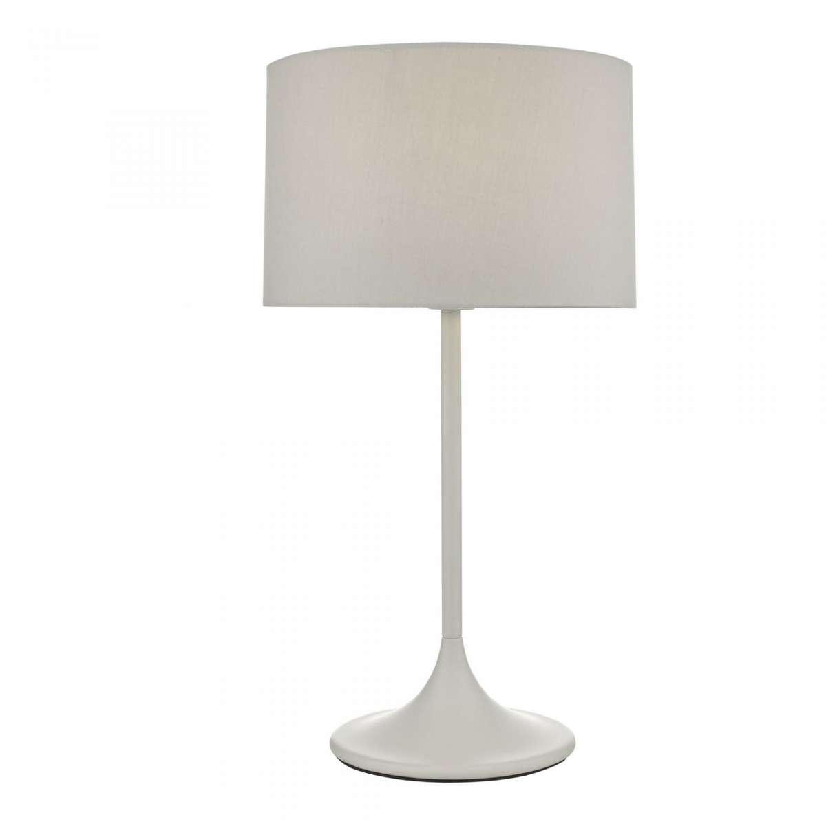 Funchal Table Lamp Grey With Shade