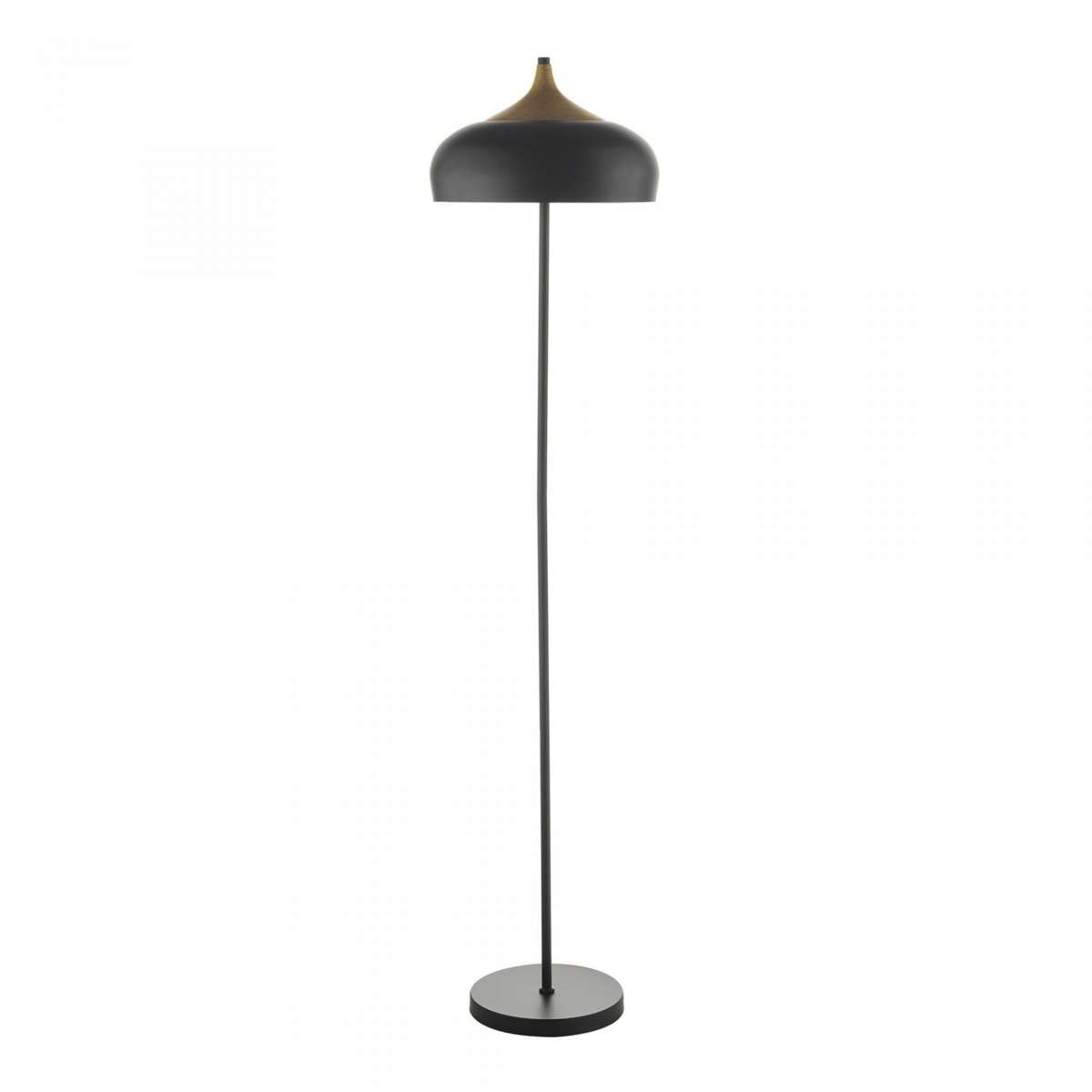 Gaucho 2 Light Floor Lamp Black