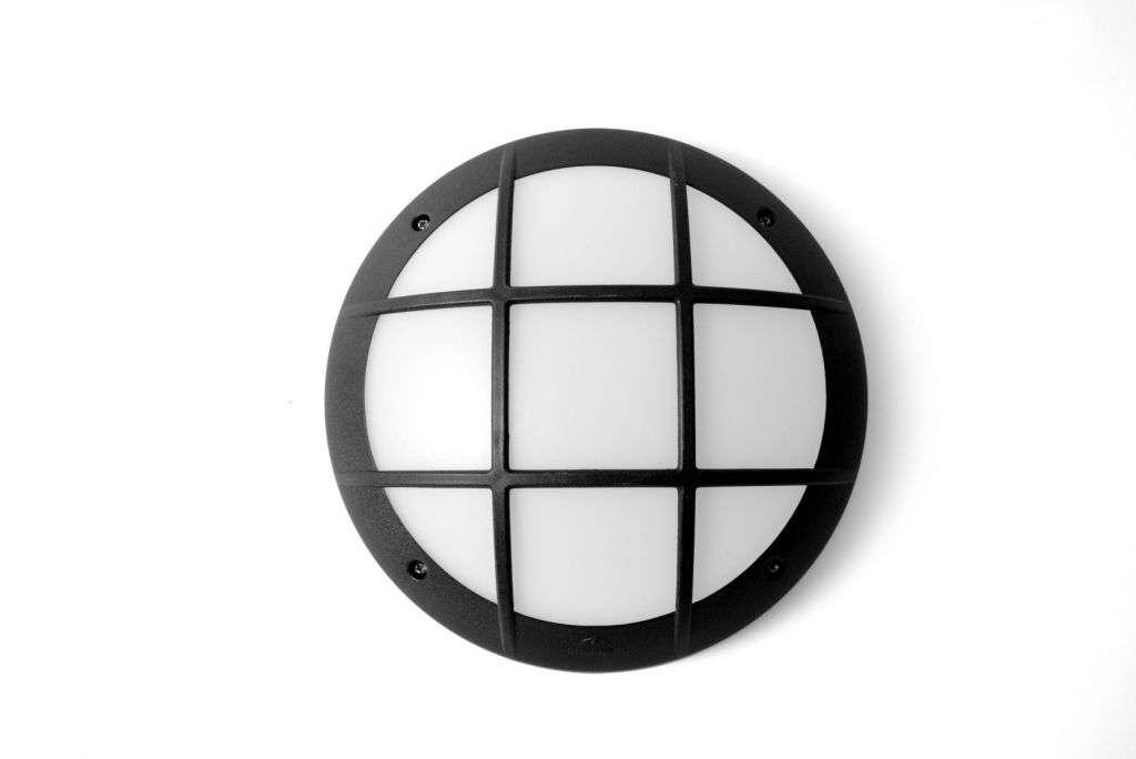 Gelmi GR LED 11Watt Fumagalli Bulkhead Black