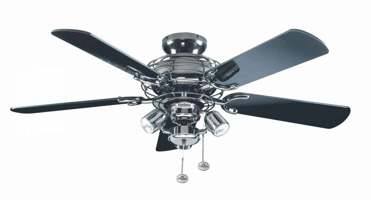 Fantasia 111849 gemini pewter 42 ceiling fan with spotlights gemini pewter 42 mozeypictures Choice Image