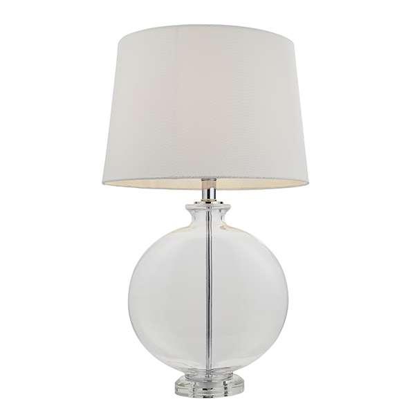 Gideon Polished Nickel Table Lamp