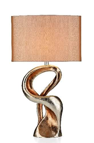 Alchemy Gold Sculpture Table Lamp Complete With Shade