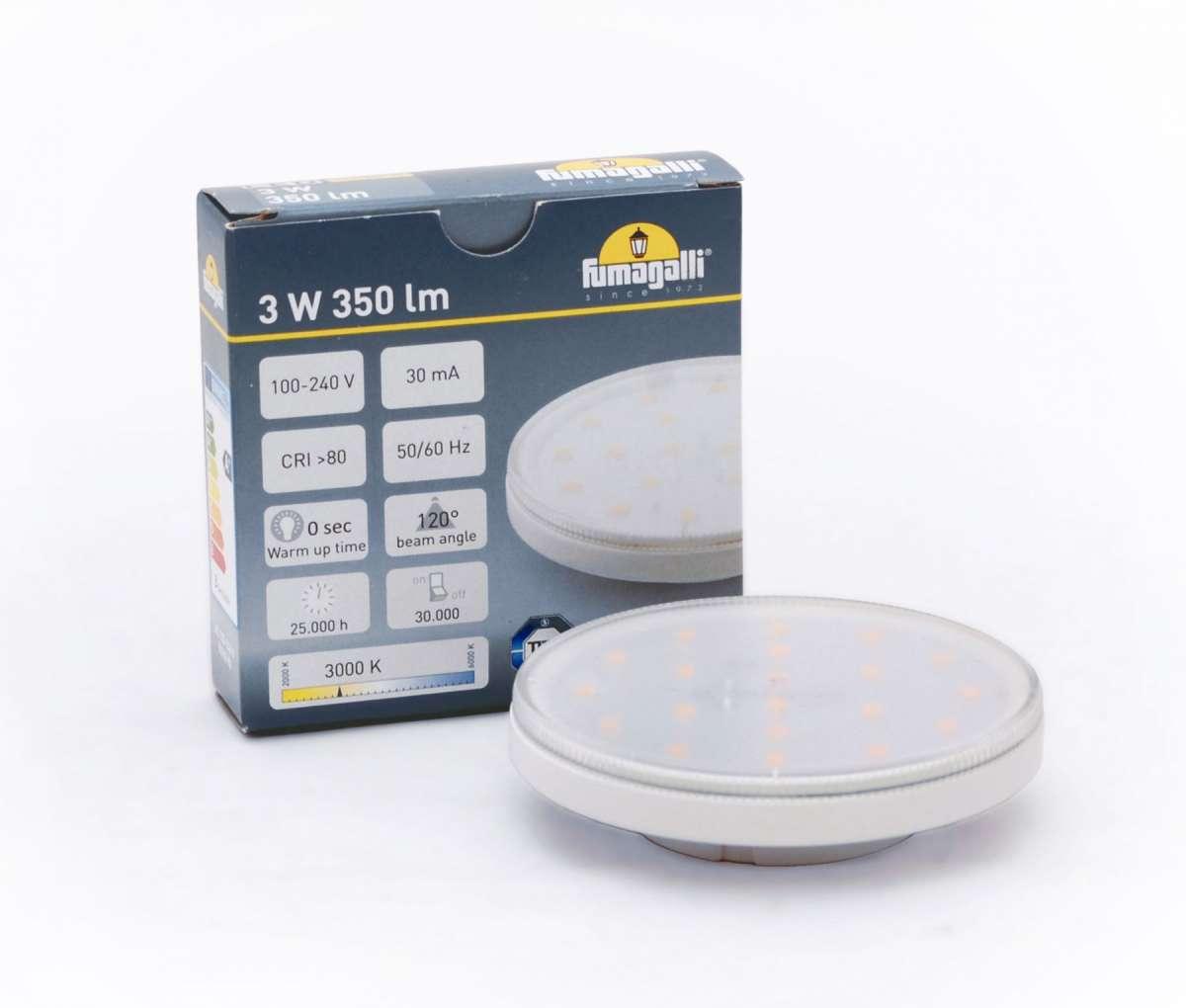 GX53 LED Lamp 3W 3000K