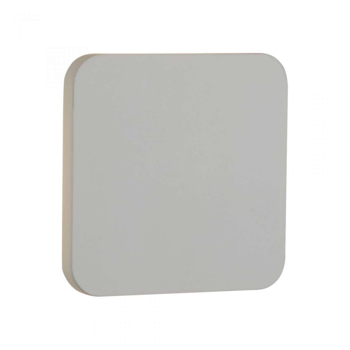 Gypsum 4W Led White Plaster Wall Light