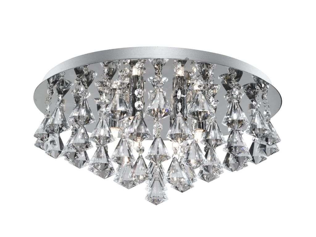 Hanna 8  Light Chrome Crystal Fitting - G9