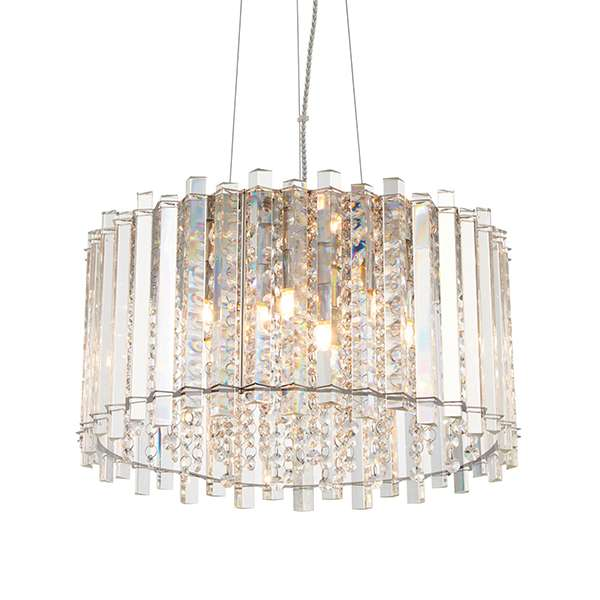 Hanna Crystal 5 Light Pendant