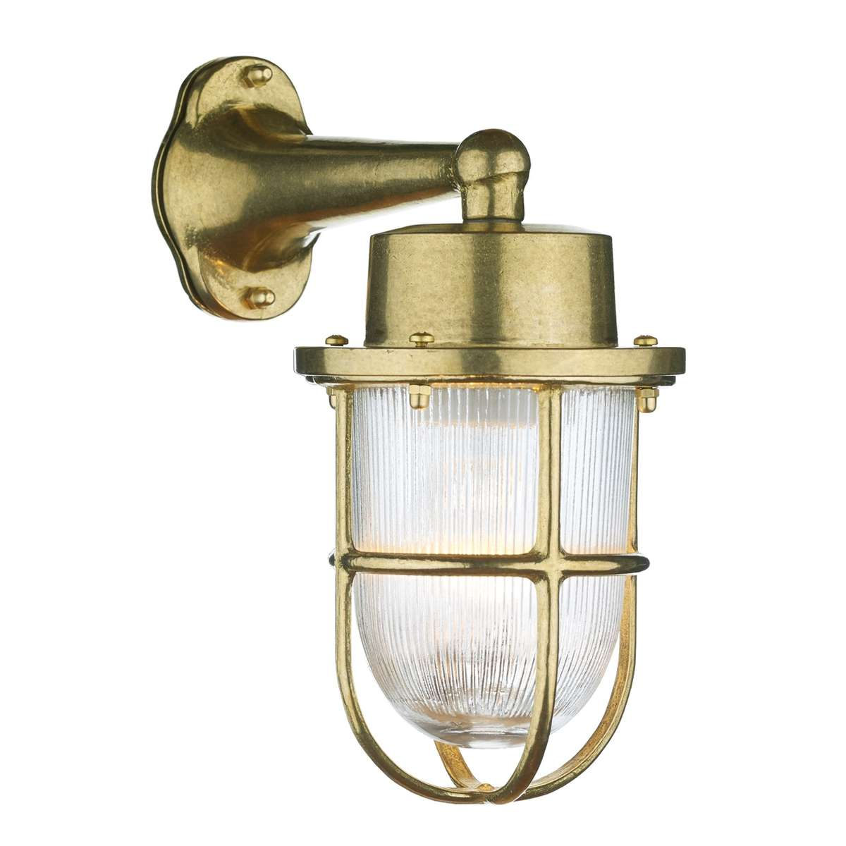Harbour Outdoor Wall Light Brass IP64