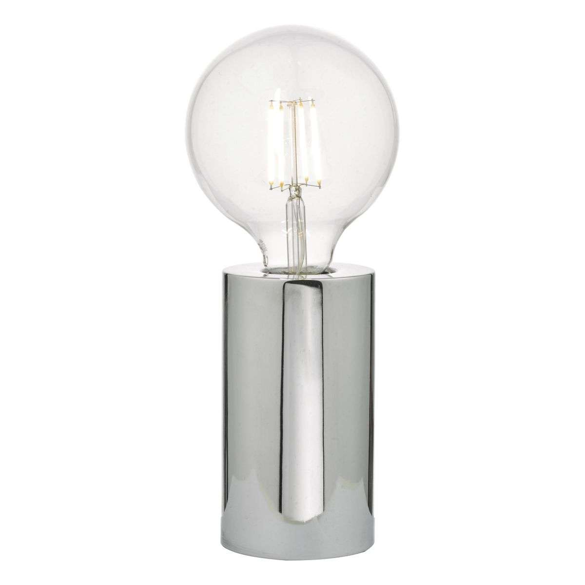 Hiva Table Lamp Polished Chrome Base Only