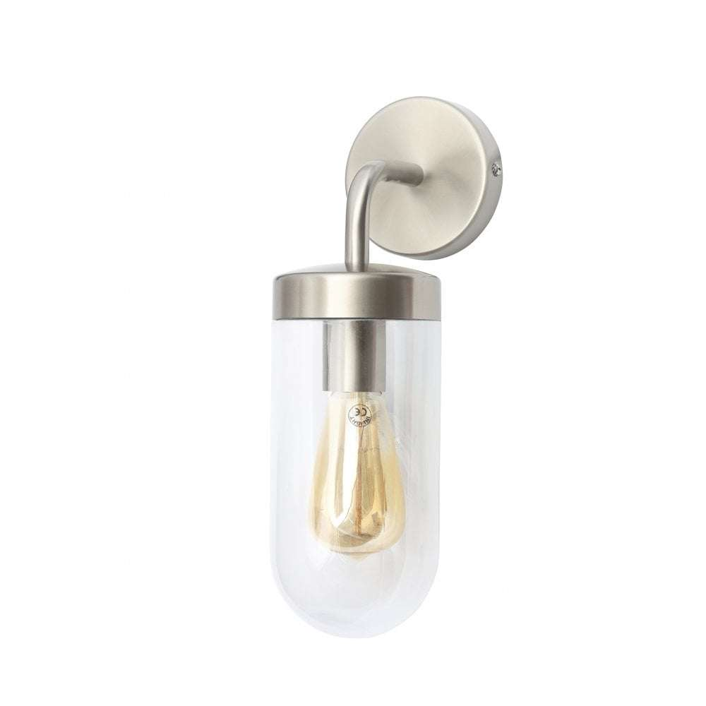 Kew Wall Lantern Stainless Steel