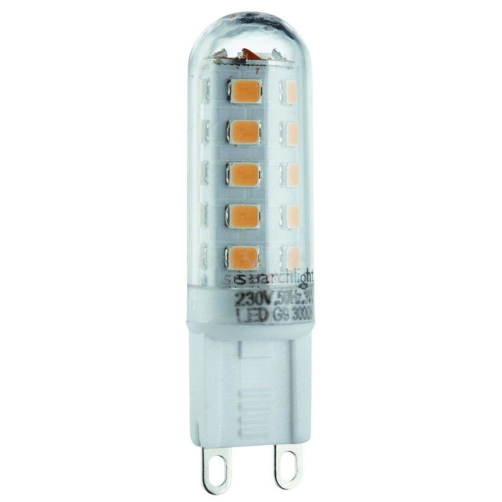 LED G9 3W Warm White LED Bulb