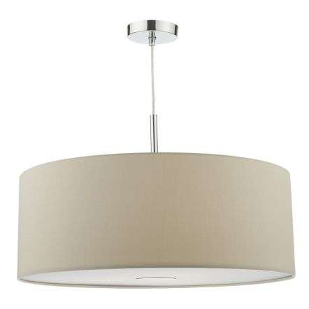 Buy quality lamp shades online from the online lighting shop lamp ronda 3 light pendant 60cm slate grey view buy aloadofball Images