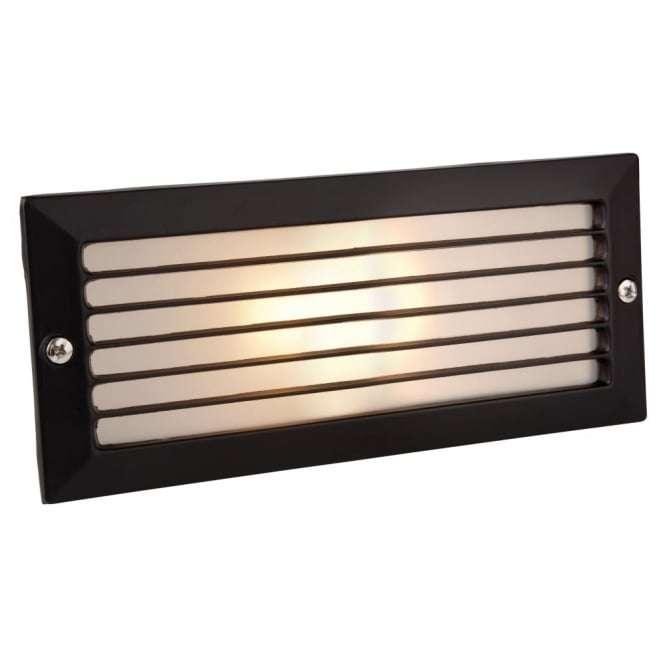 Minimalist Black Outdoor Brick Light Without Black Louvre*COPY*