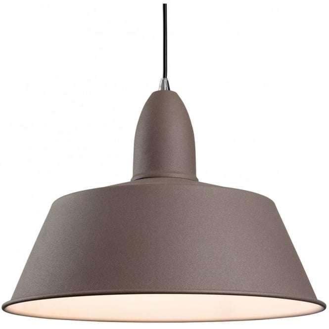 Modern Concrete Dome Shade Ceiling Light Pendant