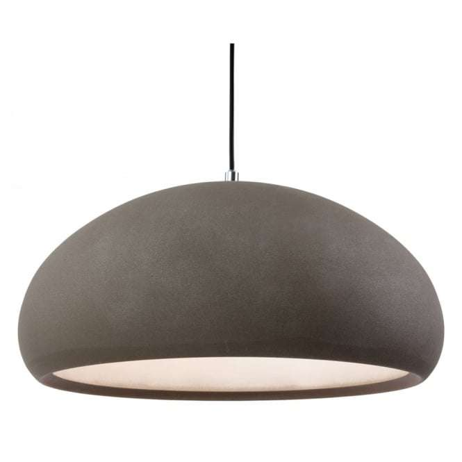 Modern Concrete Dome Shade Ceiling Pendant Light