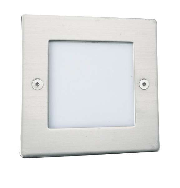 Square LED Recessed Wall Light