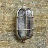 Admiral Small Oval Wall Light Nickel