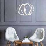 Alonsa Pendant Small White LED