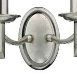 Ambassador Double Wall Bracket Satin Chrome
