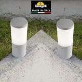 Amelia 250mm Grey Opal LED 6W Bollard Post Light