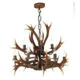 Antler Rustic 9 Light Pendant