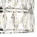 Aurora 3 Light Crystal Pendant Polished Chrome