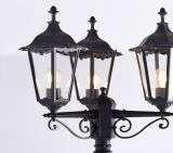 Burford Triple Lamp Post IP44