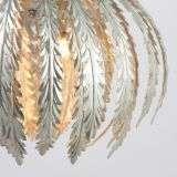 Delphine 3lt Silver Painted Pendant