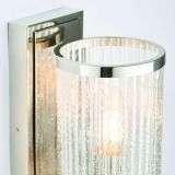 Easton Wall Light in Nickel