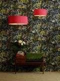 Ellington 40cm Pendant with Bespoke 100% Silk Shade Choice Colours
