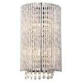 Galina 2 Light Crystal Wall Fitting