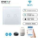 Wifi Smart 2 Gang Touch Switch