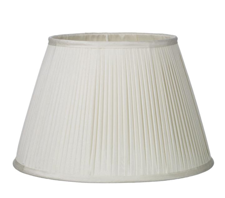 Trinity 35cm Shade Ivory Silk